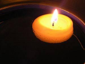 como fabricar velas flutuantes