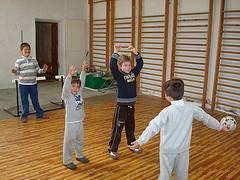Ejercicios de balonmano para niños