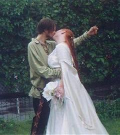 Decoraciones de bodas medievales