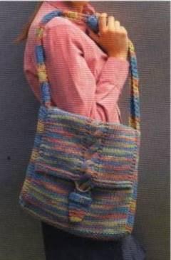 ¿Cómo tejer un bolso unisex?