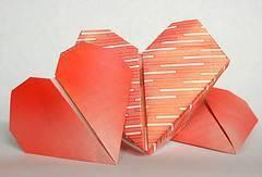 Cómo hacer un corazón en papiroflexia