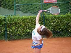 Entrenamiento de tenis para niños