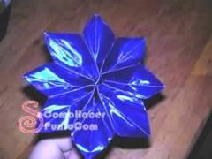 Flores de papel paso a paso
