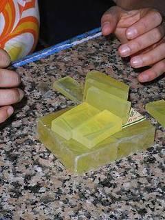 Fórmula para hacer jabón de glicerina más duro