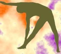 Posición de Triángulo en la práctica del Yoga