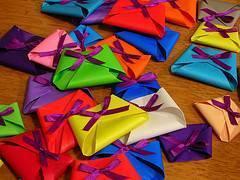 Souvenirs de origami
