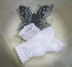 Cómo tejer calcetines de lana para bebé
